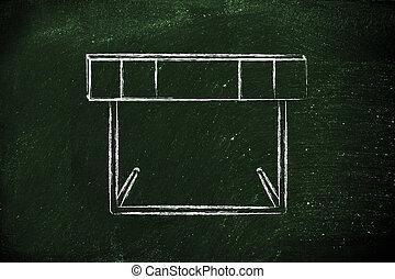 obstacles, conception, obstacle, vie, ton, surmonter