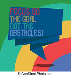 obstacles., fotografie, ohnisko, lem, dokončit, branka, cíl, přivinout, dílo, řeč, pojmový, bublina, 3, být, povolání, showing, rukopis, ne, celebration., odhodlaný, showcasing, šerpa