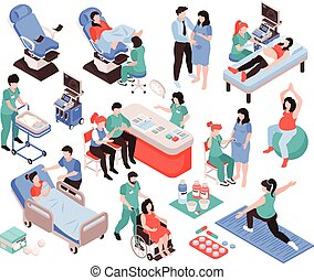 obstetrics, isometric, gynecology, jogo