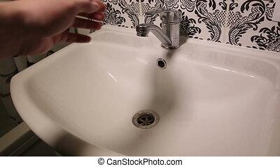 obstrué, collecteur salle bains