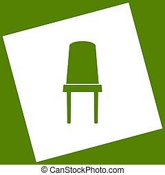 obtained, carrée, bureau, avocat, signe., tourné, arrière-plan., soustraction, vector., chaise, icône, path., blanc, résultat