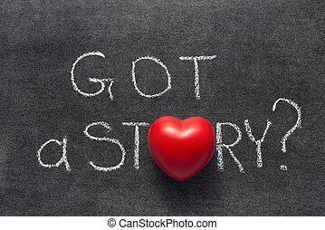obtenu, histoire, coeur