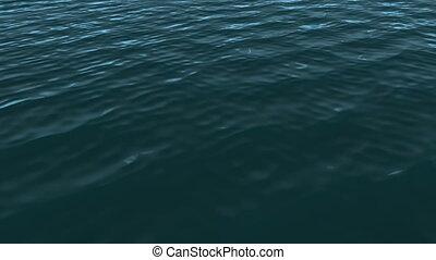 océan bleu