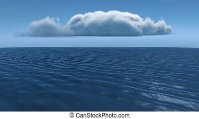 océan, calme