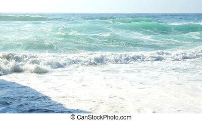 océan eau, plage, vagues