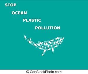 océano, contaminación
