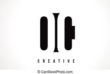 Oc O C Monogram Floral Line Art Flower Letter Company Logo Icon