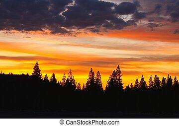 ocaso california, norte