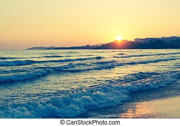 ocaso mar