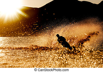 ocaso, waterski