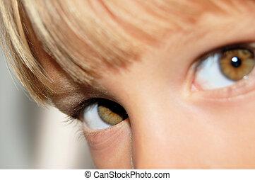 occhi, bambino