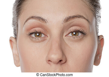 occhi, nocciola