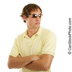 occhiali da sole, bello