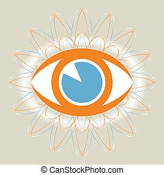 occhio, design.