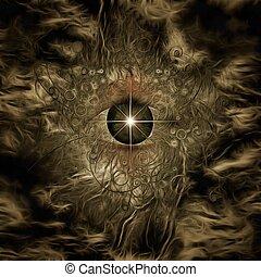 occhio, dio