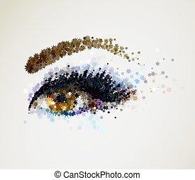 occhio donna