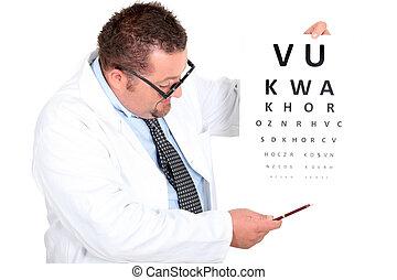 occhio, dottore