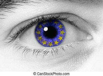 occhio, europeo