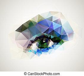 occhio femmina