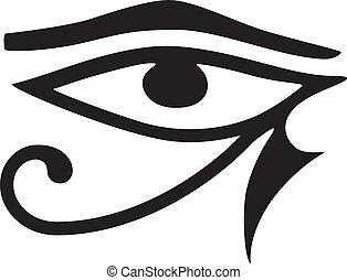 occhio, horus
