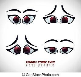 occhio, icona