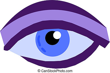 occhio, illustrazione