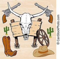 occidental, cow-boy