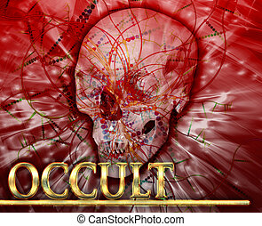 Occult Abstract concept digital illustration