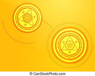 occulte, symboles