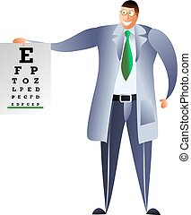 optician - occupations and jobs - happy optician