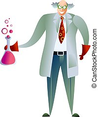 scientist - occupations and jobs - mad scientist