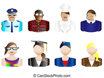 Occupations, Avatars & User Icons