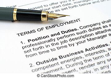 occupazione, contratto