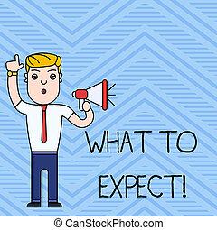 occur., wat, concept, tekst, achting, over, schrijvende , expect., waarschijnlijk, vragen, iets, handschrift, happen, betekenis
