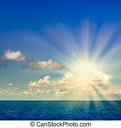 oceânicos, e, céu
