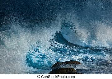 oceânicos, onda