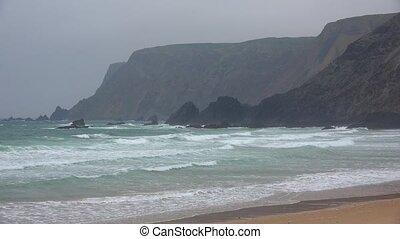 Ocean Beach And Cliffs