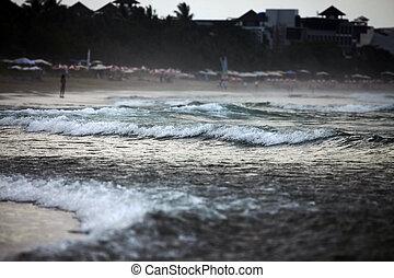 Ocean before storm