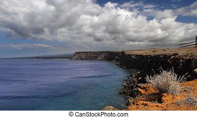 Ocean Cliffs Time Lapse