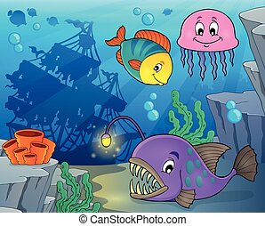 Ocean fauna topic image 3