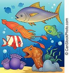Ocean fauna topic image 4