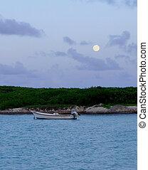 ocean, księżyc