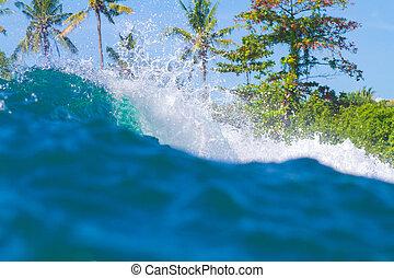 Ocean Landscape. Bali Island. Indonesia.