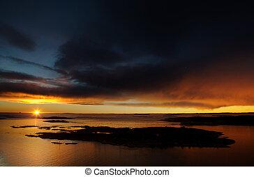 Ocean Landscape - Beautiful coastal Landsacpe on the very...