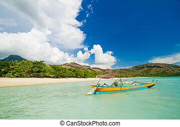 Ocean Landscape. Sumbawa Island. Indonesia.