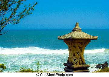 Ocean near Tanah Lot