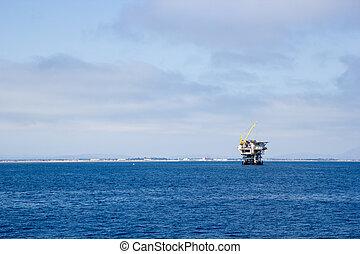 Ocean Oil Rig