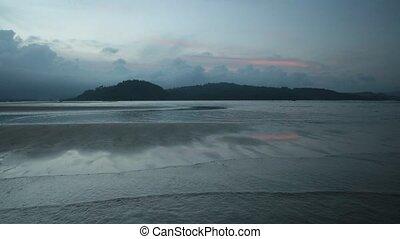 Ocean Scene Vietnam - A beach scene over the south China sea...