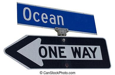 Ocean sign