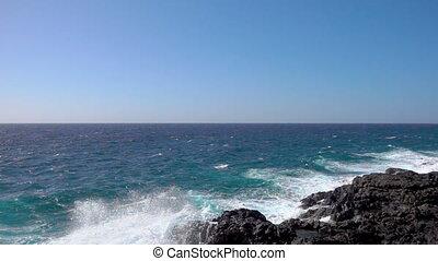Ocean Surf  - slow motion of waves